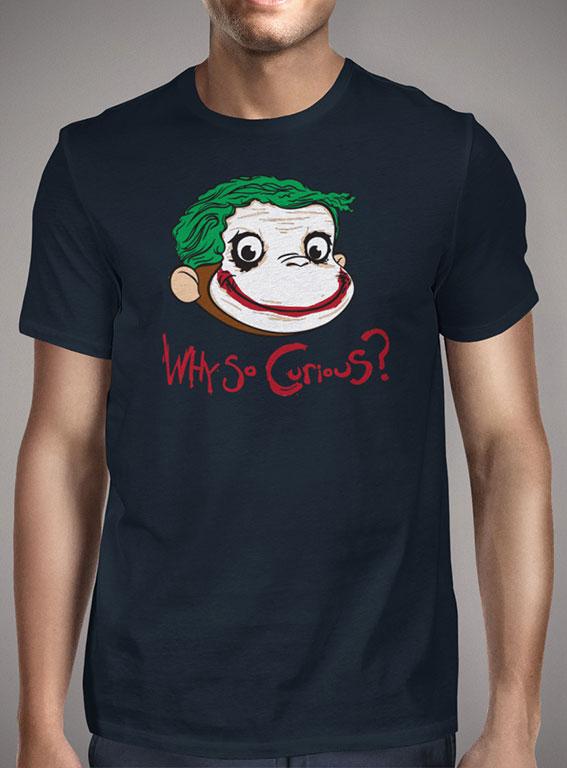 Мужская футболка Why So Curious — продажа  цены, фото   Интернет ... 4d63d4c36b8