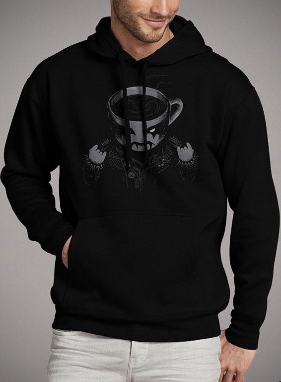 Мужская толстовка Black Metal Coffee — продажа  цены, фото ... d90d361a9b3