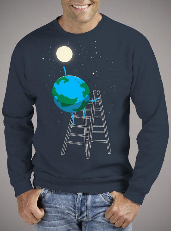 Мужской свитшот Reach the Moon — продажа  цены, фото   Интернет ... e1d426d3960