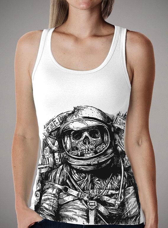 Женская майка Dead Astronaut — продажа  цены, фото   Интернет ... a7bd2397e6d