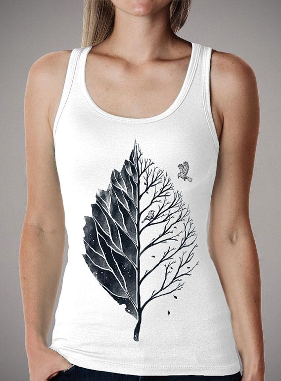 Женская майка Leaf of Life — продажа  цены, фото   Интернет-магазин ... eeaffa39111