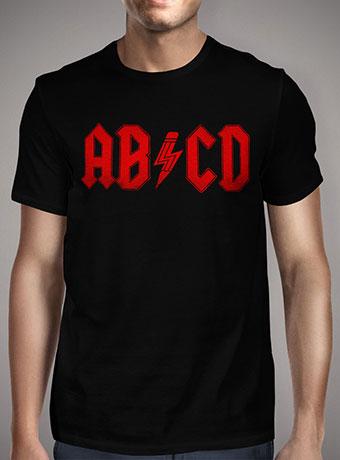 Мужская футболка Abcd Rock