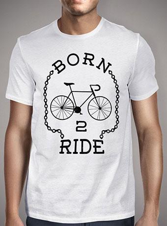 Мужская футболка Born To Ride