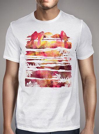Мужская футболка Enjoying The Sunset
