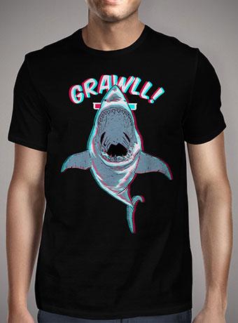 Мужская футболка Jaws 3d