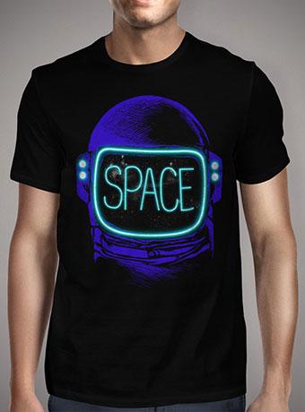 Мужская футболка Space Neon