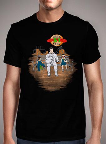 Мужская футболка Area 51