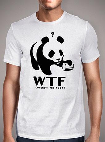 Мужская футболка Where is the Food
