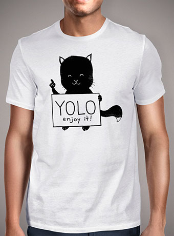 Мужская футболка Yolo Enjoy It