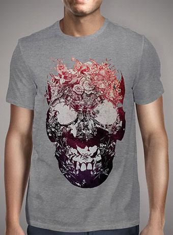 Мужская футболка Floral Skull