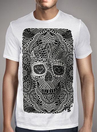 Мужская футболка Lace Skull