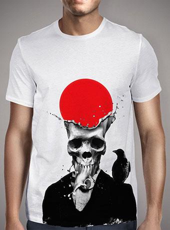 Мужская футболка Splash Skull