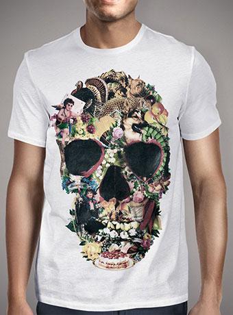 Мужская футболка Vintage Skull