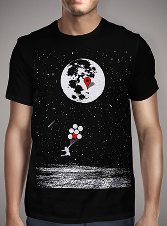 Мужская футболка Destination Moon