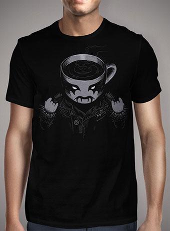 Мужская футболка Black Metal Coffee