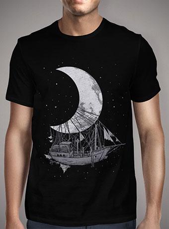 Мужская футболка Moon Ship