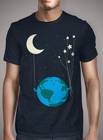 Мужская футболка Under the Moon and Stars