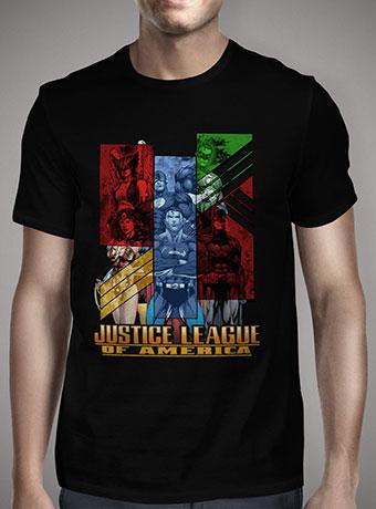 Мужская футболка Justice League of America