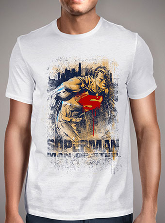 Мужская футболка Man of Steel