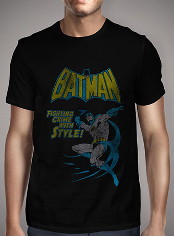 Мужская футболка Vintage Batman Comic