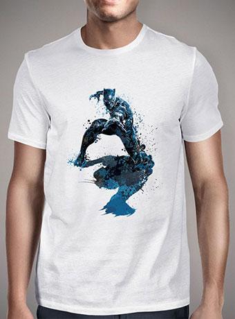 Мужская футболка Black Panther Splatter