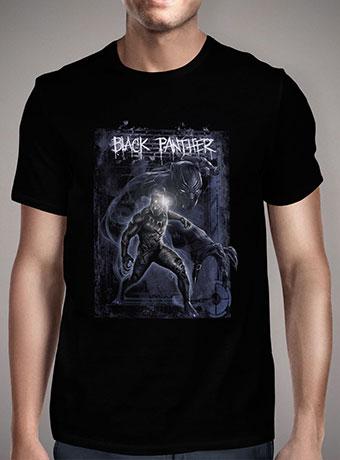 Мужская футболка Black Panther Strikes