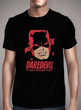 Мужская футболка Daredevil Without Fear