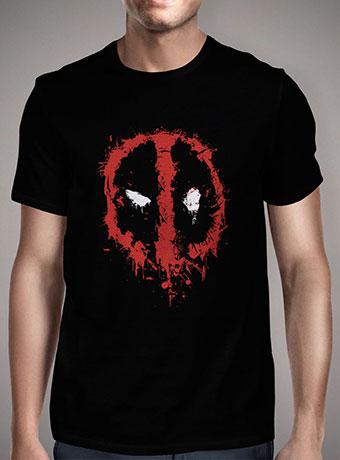 Мужская футболка Deadpool Splatter