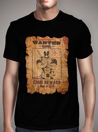 Мужская футболка Deadpool Wanted Poster