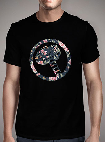 Мужская футболка Floral Thor