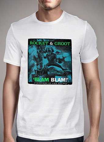 Мужская футболка Rocket - Portrait of a Legend