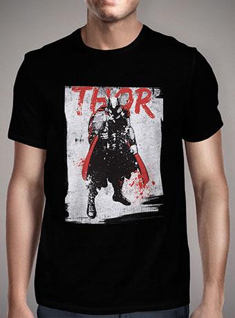 Мужская футболка Thor In Grunge