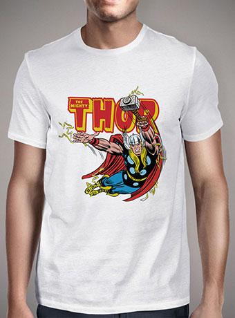 Мужская футболка Thunder Struck Thor