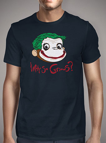 Мужская футболка Why So Curious