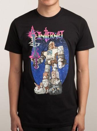 Мужская футболка INTERNET