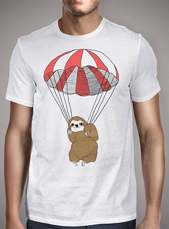 Мужская футболка Parachuting Sloth