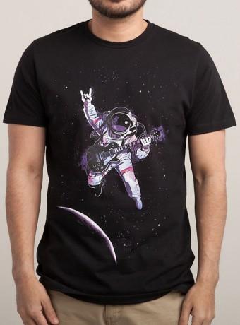 Мужская футболка Solo in Space