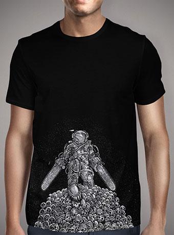Мужская футболка Texas Chainsaw Astronaut