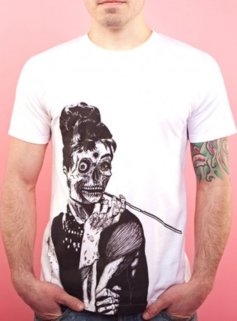 Мужская футболка Zombie at Tiffany's