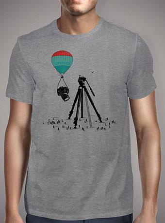 Мужская футболка Supersize Cam Atraction