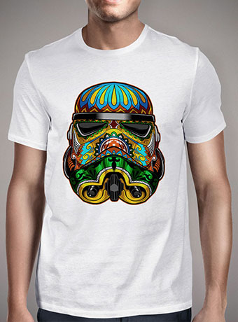 Мужская футболка Festive Stormtrooper