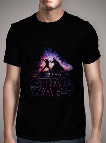 Мужская футболка Lightsaber Duel