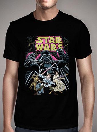 Мужская футболка Star Wars Comic Book