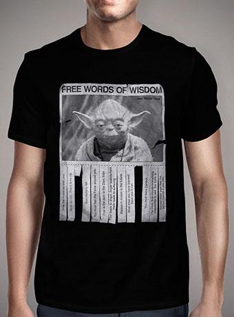 Мужская футболка Yodas Words of Wisdom
