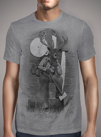 Мужская футболка In the Woods