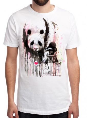 Мужская футболка Panda