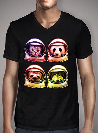 Мужская футболка с V-образным вырезом Astro Full Blast