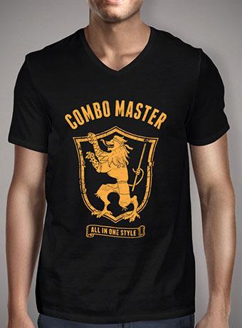 Мужская футболка с V-образным вырезом Combo Master V1