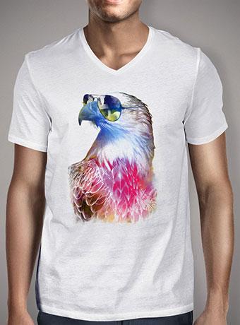 Мужская футболка с V-образным вырезом Eagle Eyes