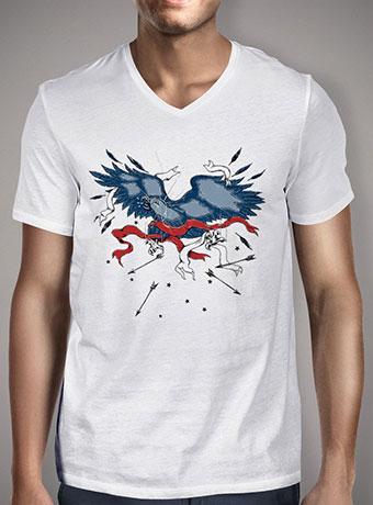 Мужская футболка с V-образным вырезом Epic Fail